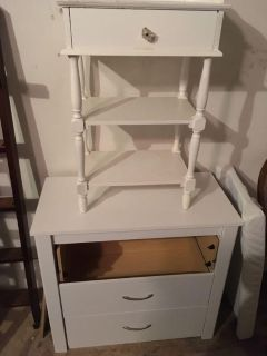 Side table and dresser