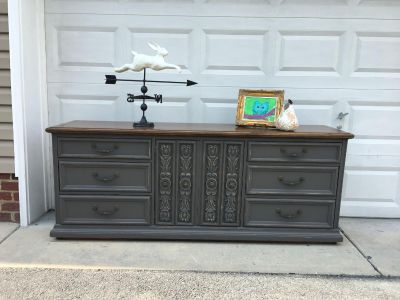 LANE slate gray or need changing table/buffet/triple dresser/TV Console