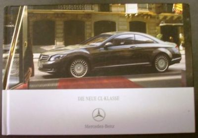 Sell 2007 Mercedes-Benz CL Class Hard Cover Prestige Sales Brochure German Text Rare! motorcycle in Holts Summit, Missouri, United States, for US $44.98