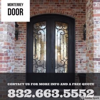 Double Iron Door