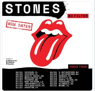 3 Rolling Stones Tickets for July 25 at NRG