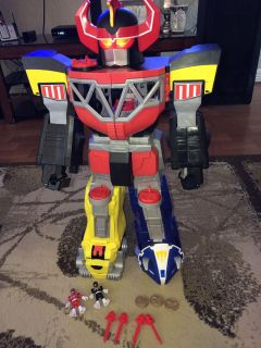 Power rangers robot and extras