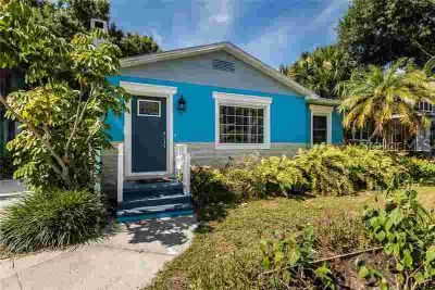 636 37th Avenue S Saint Petersburg Two BR, Block Home located
