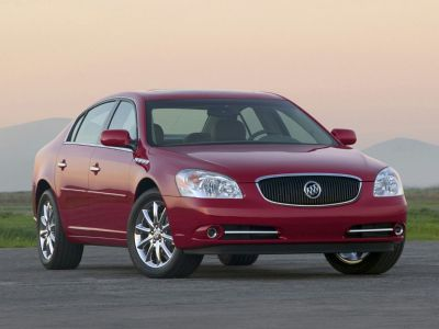 2011 Buick Lucerne CXL (Crystal Red Tintcoat)