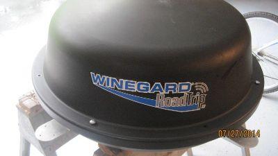 RV Winegard Satellite Dish