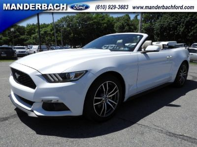 2017 Ford Mustang EcoBoost Premium (Oxford White)