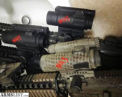 For Sale/Trade: Aimpoint CompM4 for Eotech EXPS3