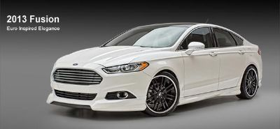 Sell FORD FUSION DUAL EXHUAST 692038 PAINTED Ground Effects 4 Piece Kit 2013-2014 motorcycle in Cleveland, Ohio, US, for US $1,717.71