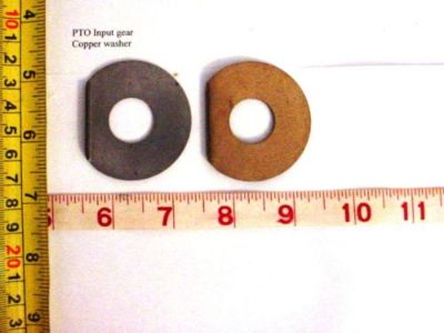 Purchase 10 pcs PTO Input Gear Copper Washer, 7538656, 8310-00-753-8656,2.5 or 5T motorcycle in Midland City, Alabama, United States, for US $10.25
