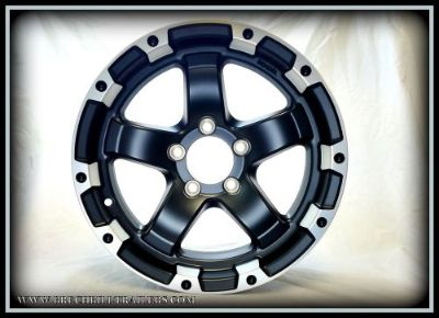 """Find 15""""X6"""" 5-LUG ALUMINUM BLACK TRAILER WHEEL motorcycle in Chambersburg, Pennsylvania, United States, for US $98.55"""
