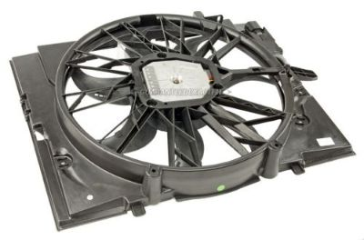 Purchase New Genuine OEM Radiator Or Condenser Cooling Fan Assembly Fits BMW 5 & 7 Series motorcycle in San Diego, California, United States, for US $685.95