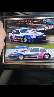 T/K chrome Molly car