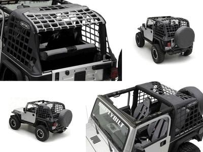 Sell Jeep Wrangler TJ 97-06 CRES Cargo Restraint System Holds Cargo in with Nets motorcycle in Sandy, Utah, US, for US $119.99