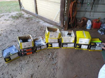 Dry wall screws $25 a box or whole lot $100