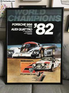 Porsche Dealership Posters