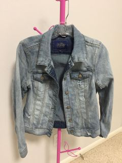 Denim Jacket - washed and distressed