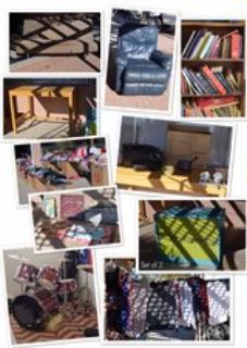 Yard sale - everything must go