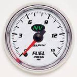 "Purchase Autometer NV Series-Fuel Press Gauge 2-1/16"" Electrical Full Sweep 0-15 PSI 7362 motorcycle in Winchester, KY, US, for US $207.00"