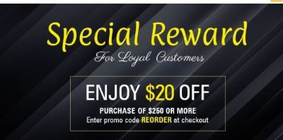 Special Reward SAVE $20 on Computer Hardware Components