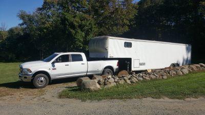 40' enclosed trailer reg. as camper