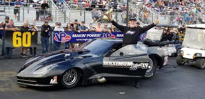 Rick Hord Turbo Pro Mod Charlotte winning engine