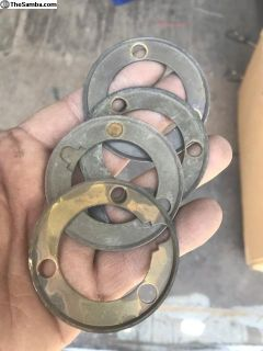 Brass horn contact washer
