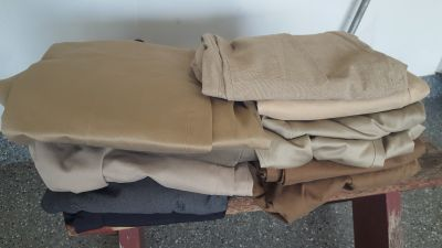 9 Pairs of Men's Slacks Sizes 34/30, 33/32, 34/32, 32/30, 38/39