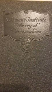 Vintage Woman's Institute Library of Dressmaking