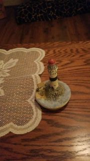 Light house candle topper