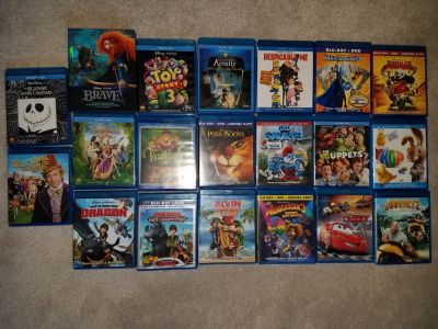 Kids BluRay Movies ($2 ea)