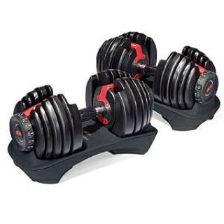 BOWFLEX SelectTech 552 Pair of Dumbbells  STAND - NEW in Box