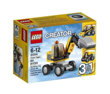 LEGO Creator 31014 Power Digger - Used and Complete