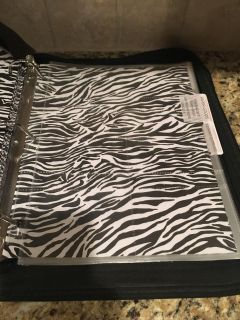 Coupon Organizing Binder with Approx 50 Pages