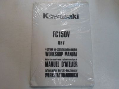 Purchase Kawasaki FC150V OHV 4 Stroke Air Cooled Gasoline Engine Workshop Manual NEW OEM motorcycle in Sterling Heights, Michigan, United States, for US $24.95
