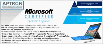 MCSE Training in Noida with live Projects