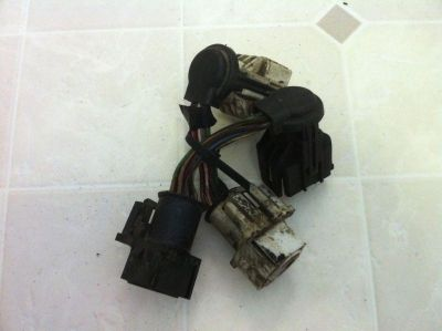 Sell 87-93 Ford Mustang Fuel Injection Harness Rear EXTENSION Salt & Pepper Shakers motorcycle in Conneaut, Ohio, US, for US $40.00
