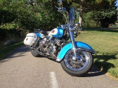 1960 Harley Davidson Panhead Flh Duo/hydra Glide Panhead