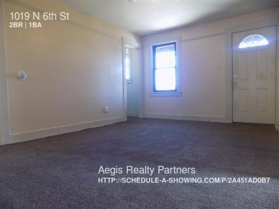 Apartment Rental - 1019 N 6th St