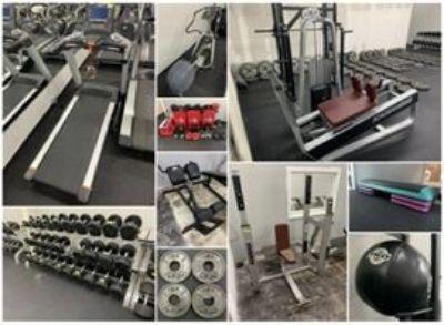 SEAGOVILLE, TX Gym Equipment Liquidation Auction