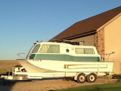 Original SeaCamper Towable Houseboat