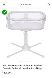 LOOKING FOR: Halo Bassinet in excellent condition