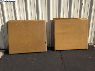 68-74 Original Westfalia rear cushions