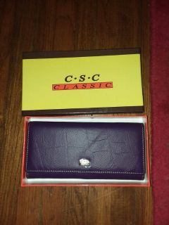 CSC classic womens wallet new