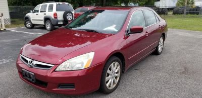 2006 Honda Accord EX (RED)