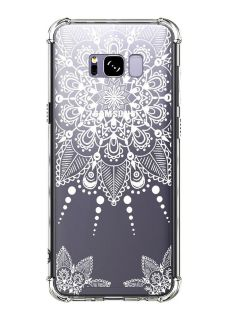 GALAXY S8 PLUS CASE CLEAR WITH DESIGN