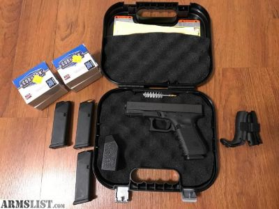 For Sale: Glock 23 (Gen 4) with extras