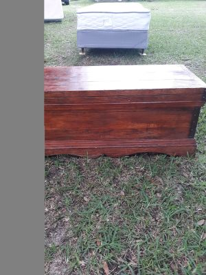 Handcrafted Solid wood chest