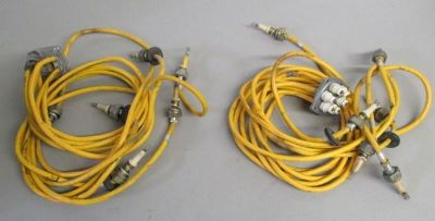 Sell (2) Cessna Magneto Harness Teledyne Continental Engine Ignition 10-821674-3 Gold motorcycle in Richmond, Kentucky, US, for US $119.99