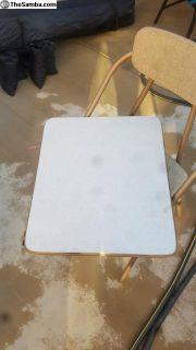 ?? Camper folding door table 1 big 1 small