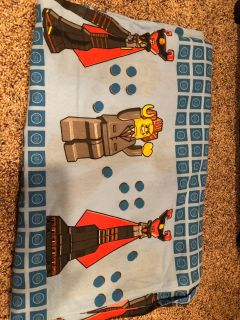 LEGO TWIN FLAT BED SHEET. Very Nice Condition